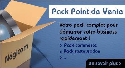 Pack point de vente