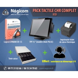 Pack tactile restauration