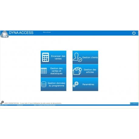 logiciel point de vente DYNA ACCESS